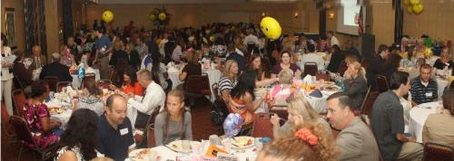 New Teacher's Breakfast was held on Friday, August 17th at the Clarion Hotel
